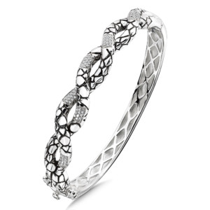 SG WHITE DIAMOND BANGLE